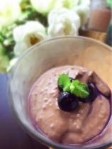 豆腐のチョコレートムース